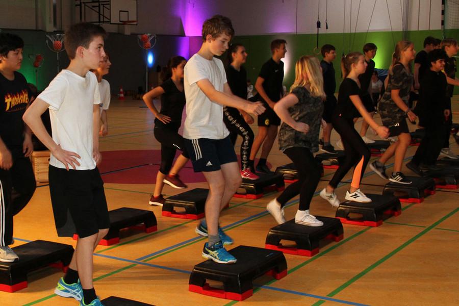 schule fitness programm